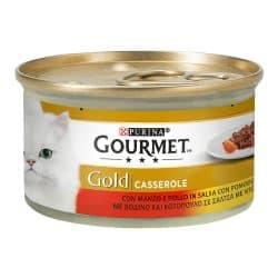 Gourmet Gold Casserole με Βοδινό και Κοτόπουλο