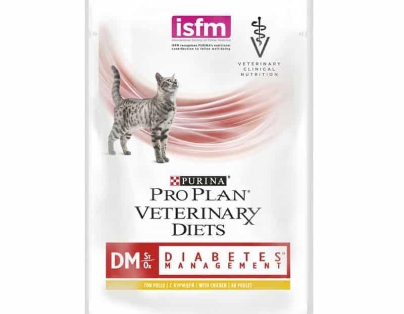 Purina Pro Plan Vet Diets DM (Diabetes Management) Φακελάκι Γάτας