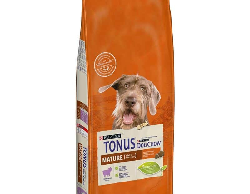 Purina Tonus Dog Chow Mature με Αρνί