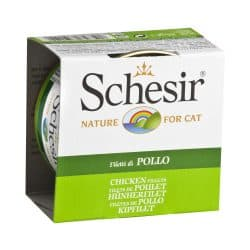 Schesir Cat Jelly Φιλετάκια Κοτόπουλο